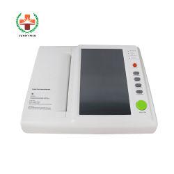 인쇄 기계 ECG 제조자를 가진 Sy-H008 디지털 ECG/EKG 12 지도