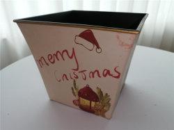 Venda por grosso de Decoração de Natal Plantas quadrados potes plásticos da plantadeira para Home