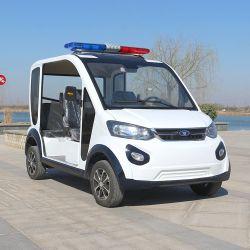 أفضل سعر 4 مقاعد سيارات الشرطة 4 دوريّة ويلر الكهربائية السيارة