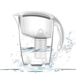 Brocca alcalina del filtrante dell'acqua potabile del filtrante di acqua della famiglia di prezzi di fabbrica con 1jug e 1filter