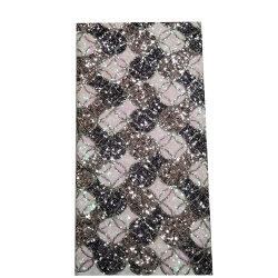 Alta calidad de proveedor de Yiwu elegante encaje con reborde en 3D de tejido y bordado de encaje tejido 3D de material para los vestidos y faldas cortas