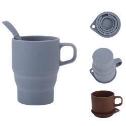 Индивидуального логотипа OEM/ODM-силикон вино очки небьющийся съемные чашки