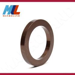 Acessórios de metal de alta precisão de fábrica, peça usinada, componentes de máquinas de Automação, Luva de alumínio redonda do rebobinador guilhotinagem, Máquina de Papel.