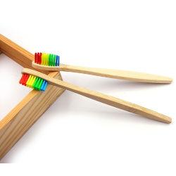 Toothbrushes di bambù standard del carbone di legna della FDA per cura personale