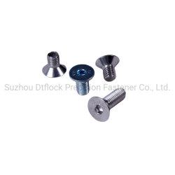 DIN 7991/GB T 70.3/DIN En ISO 10642の炭素鋼、ステンレス鋼、六角形のソケットによってさら穴を開けられるヘッド帽子ねじ
