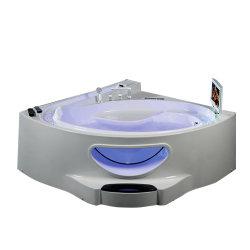 フォーシャンの製造者の小さい性のマッサージのアクリルの共通の浴槽の角の浴室