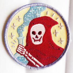 Bordados Patch Design de logotipo personalidade tecidos crachá para decoração de vestuário