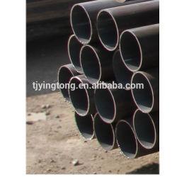 Commerce de gros de corps creux en acier doux de haute qualité Ss tuyaux rondes en acier creux