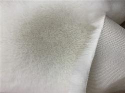 2020 Groothandel 100% Recycle Polyester Jacquard malen imiteren konijn haar 800g Rabbit Hair Cloth Knitting Fabric voor autobus/gordijn/coating