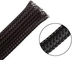 Guaina intrecciata per cavi espandibile con conformità RoHS UL
