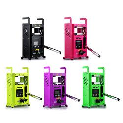 شركة KP-4 Rosin Tech Heat Press Machine لبيع جديد ومتجدد ماكينة الضغط DAB اليدوية ذات الألواح الحرارية المزدوجة لـ Rosin CBD زهرة الأعشاب
