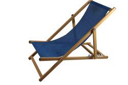5 posiciones Vintage cama plegable de madera silla de jardín