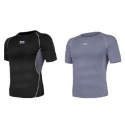 بالجملة كرة سلّة لياقة يثبت لباس 100% بوليستر سوداء [شورتس] [تركسويت] عالة علامة تجاريّة فعليّة حجم قميص رجال