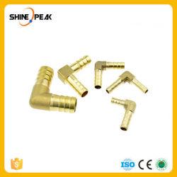 Raccordo tubo flessibile in ottone gomito a gomito a riduzione uguale 4 mm Connettore accoppiatore con attacco a barbetta in rame per tubo di diametro interno da 6 mm 8 mm 10 mm 16 mm Adattatore