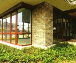 Wood-Plastic Composite -- cadre de la fenêtre 2014 haute résistance à l'humidité et les termites l'exportation vers la France, Allemagne, Espagne, Italie, sud-américaine