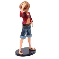 Het ééndelige Plastic Japanse Luffy Cijfer van het Stuk speelgoed van de Actie van pvc Anime voor Inzameling
