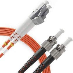 광섬유 케이블 패치 코드 LC SC St FC UPC APC 광섬유 케이블
