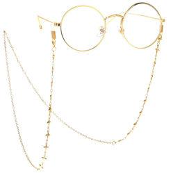 Jóias de óculos de acessórios da cadeia de decoração e Moda Máscaras Faciais corrente com uma cruz encantos