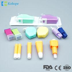 مسكسات الدم الآمنة الطبية المعقمة للاستعمال مرة واحدة، الضغط منشط مع مسحوب تلقائي
