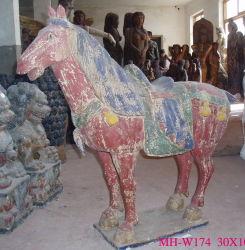 木製に馬の切り分けること(W174)