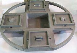 China OEM Customized Iron Sand Casting Produkte mit Malerei