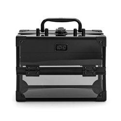La moda de acrílico de aluminio personalizado caso cosméticos Caja de maquillaje Belleza caso Joyero