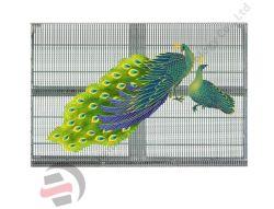 P3.91-7.82 Semi-Outdoor Mostrar janela transparente de LED da tela do visor