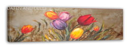 Flores decorativas Pintura al Óleo (DSC09890) para la decoración del hogar