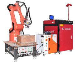 صنع وفقا لطلب الزّبون [لسر ولدينغ مشن] آليّة مع 6 محور الإنسان الآليّ لأنّ [ستينلسّ ستيل] مستطيل إطار