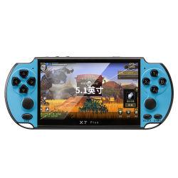 """De Fabriek van China X7 plus Retro Console van het Spel met Volledige Kleur 5.1 """" de Speler van het Controlemechanisme van het Spel van Smartphone van de Giften van Kerstmis van het Scherm"""