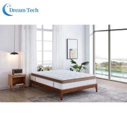Les Chinois de gros de meubles modernes d'accueil de l'hôtel Chambre Confort mousse à mémoire de haute densité Super Pocket printemps matelas lit (LZN1952G9)