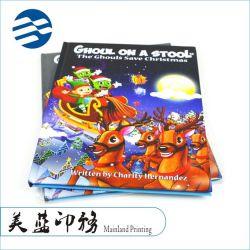 La Chine continentale décalage de reliure Couverture rigide à bon marché de Noël de l'image de l'enfant d'enfants Livre de Contes de l'impression