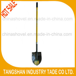 Vendita a caldo manico lungo in fibra di vetro acciaio pala Spade utensili agricoli Attrezzi manuali attrezzo da giardino