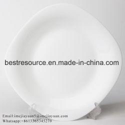 Design moderno Restaurante Heat-Resistant Opal Conjunto de jantar de vidro