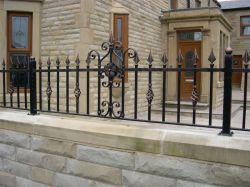 Exportar directamente de fábrica en el interior de la escalera decorativos Lowes verjas de hierro forjado.