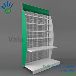 Hookの金属Retail Supermarket KitchenwareかMobile Accessories/Gloves/Sock/Hanging Display Rack