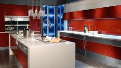 2018 Китай модульный пользовательский дешевые кухонные шкафы для продажи