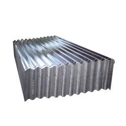 Aço Galvalume SGCC Zincalume folha de metal corrugado