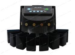 CS-5502 Banque trieur de plastique de la machine Coin coin du tri manuel de la machine Compteur de pièces de monnaie