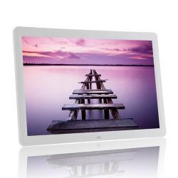 Commerce de gros 15,4 pouces LCD WiFi Cadre photo numérique avec MP3, de la musique, diaporama photo de Hopestar