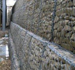 Haute sécurité grillage hexagonal galvanisé Gabion clôture Cages/boîtier