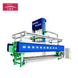 다른 여과판 크기를 가진 자동적인 산업 폐기물 물 처리 약실 막 여과 장비 및 방법을 출력하는 여과액