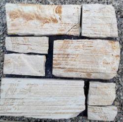 قشرة زينية مرنة من الحجر الزخرفي