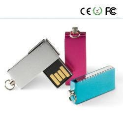 새로운 회전식 USB 2.0 미니 USB 저장 메모리 스틱