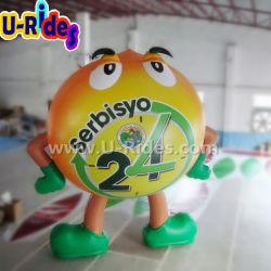 大きい広告の膨脹可能な気球モデル