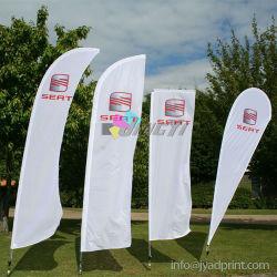 Alimentation ad drapeaux : Sail/Feather/Teardrop/Rectang/Swooper drapeaux
