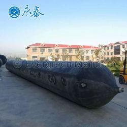 Bateau de sauvetage Navire maritime de l'airbag de caoutchouc naturel