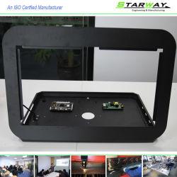 Revêtement poudré OEM personnalisés feuille de tableau électrique Fabrication métallique en acier inoxydable avec précision le soudage et de flexion de service de découpe laser