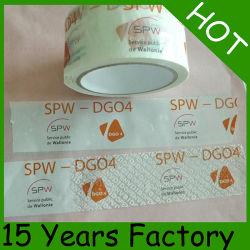 Adesivo de BOPP fita impressa logotipo do cliente