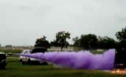 Polvo Químico Seco, Bc polvo de color púrpura